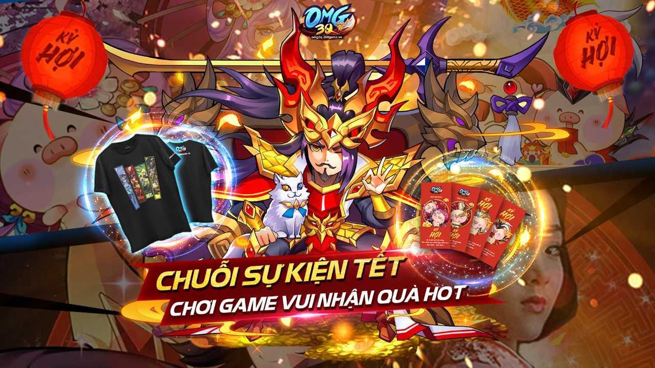Game thủ OMG 3Q rộn ràng tham gia sự kiện Tết Nguyên Đán - Ảnh 1