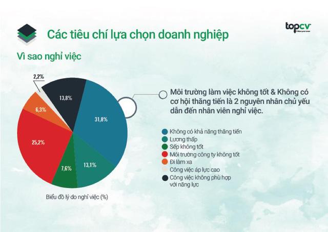 Báo cáo thường niên về thị trường tuyển dụng nhân sự trẻ từ TopCV - Ảnh 2.