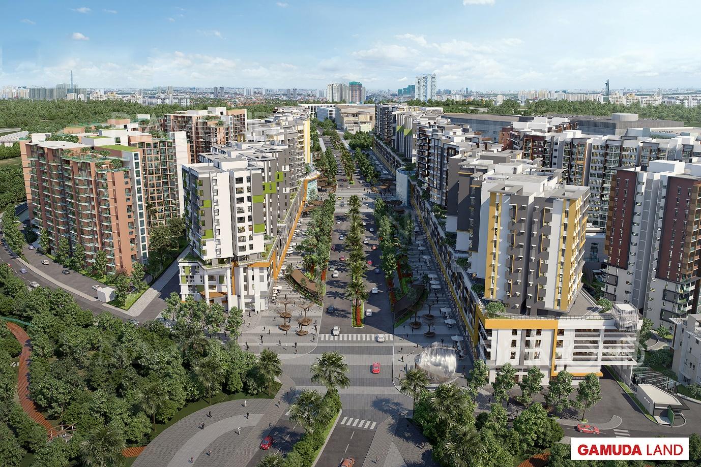 Đại lộ Gamuda - Tâm điểm giao thương của Khu Tây Thành Phố