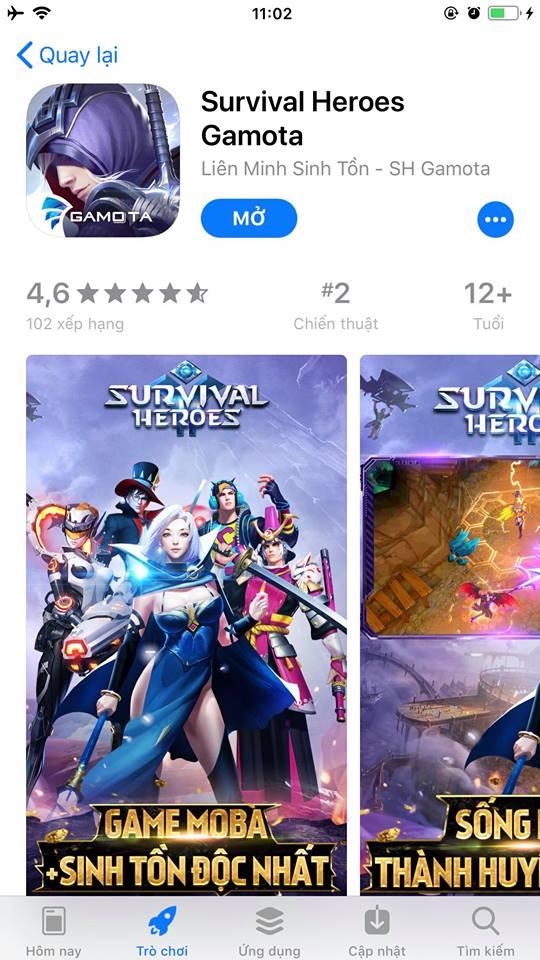 Vanh Leg cùng Độ Mixi đồng loạt tặng Giftcode, thách game thủ vào Survival Heroes giành Top 1 - Ảnh 8.
