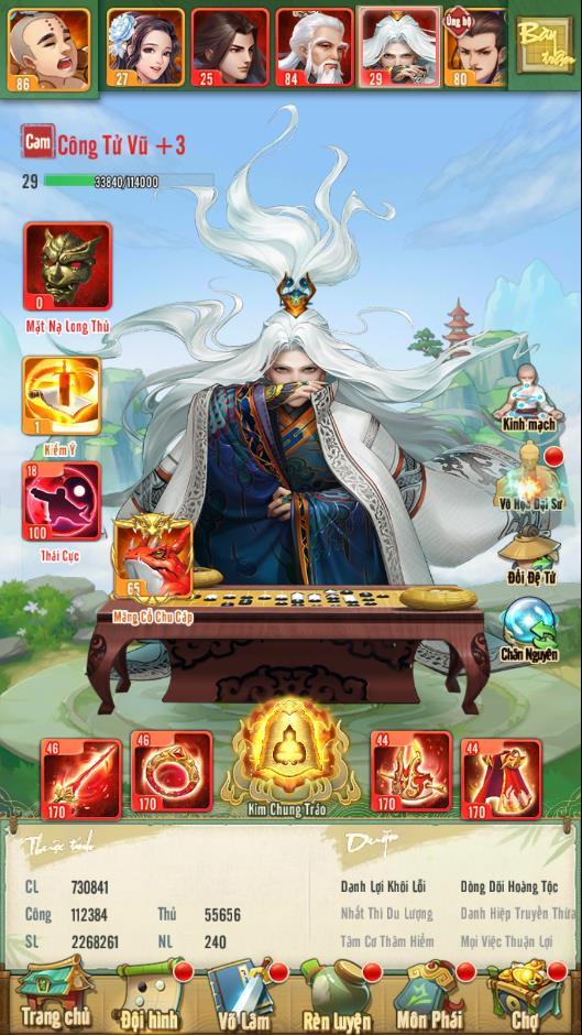 """Tân Chưởng Môn VNG tung """"nộ"""" 100 tuyệt thế cao thủ Cổ Long và bất ngờ cho tải game trước - Ảnh 4."""