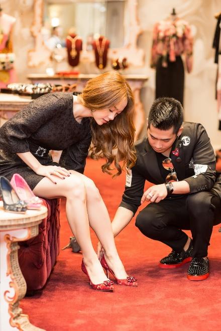 Minh Hằng chi mạnh tay shopping tại Dolce & Gabbana cho sự trở lại sau scandal - Ảnh 3.