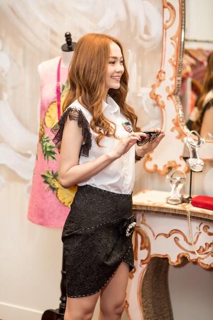 Minh Hằng chi mạnh tay shopping tại Dolce & Gabbana cho sự trở lại sau scandal - Ảnh 6.