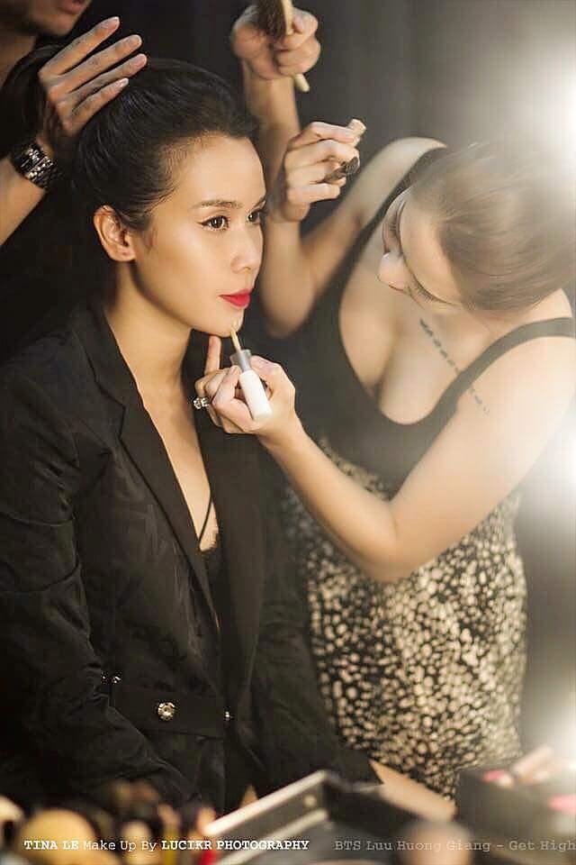 Tina Lê – Chuyên gia phù thủy make up cho nhiều sao Việt - Ảnh 3.
