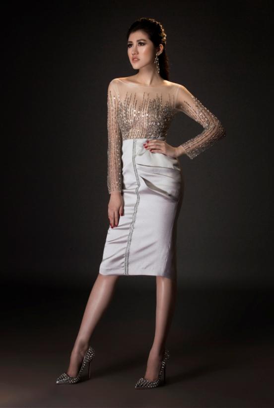 Người đẹp Emily Hồng Nhung đầy ma mị trong trang phục dạ hội mang phong cách châu Âu - Ảnh 5.