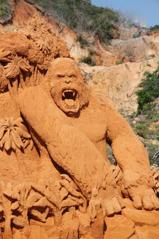 Ngỡ ngàng trước những biến hóa tuyệt diệu của cát đỏ Phan Thiết - Ảnh 3.