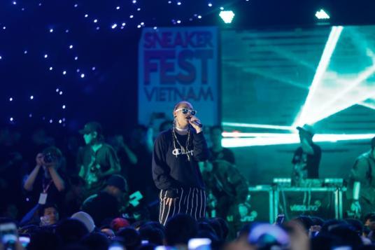 Bitis Hunter X bất ngờ xuất hiện tại Sneaker Fest Vietnam 2017 - Ảnh 9.