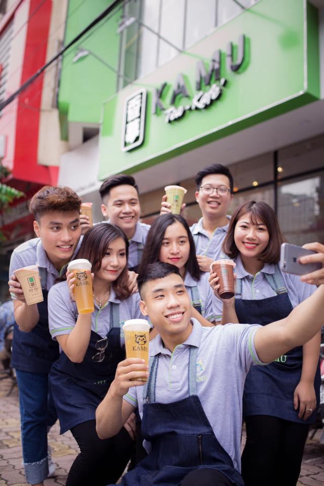 Kamu – Hương vị trà sữa Nhật Bản đặc trưng giữa đất Hà thành - Ảnh 2.