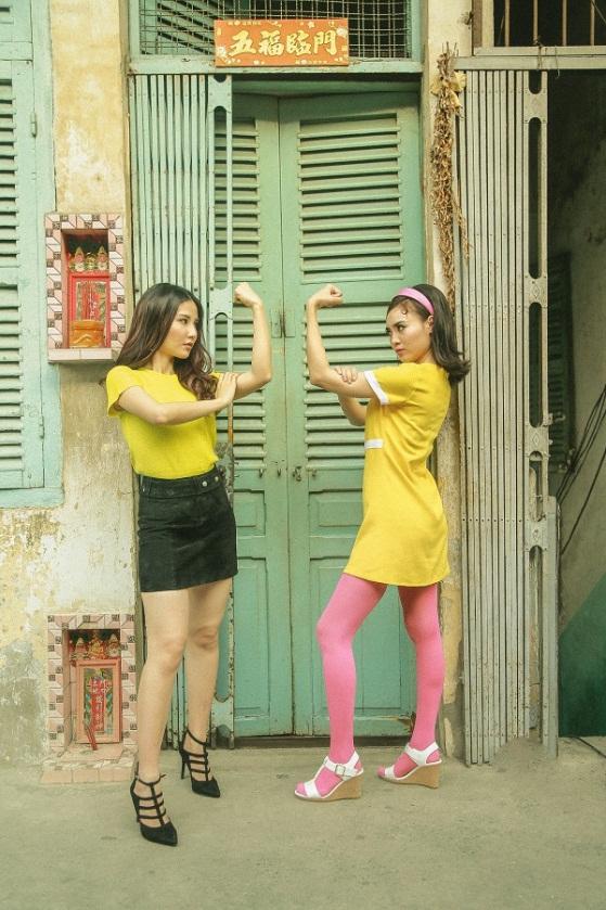 """Diễm My tự tin vũ đạo với giày cao gót trong MV OST """"Tân Thời"""" của Jun Phạm - Ảnh 3."""