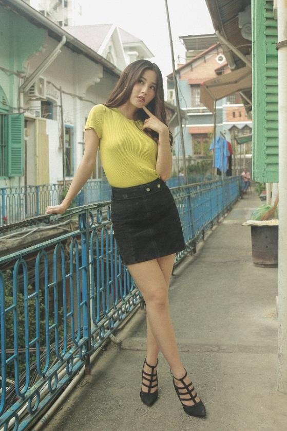 """Diễm My tự tin vũ đạo với giày cao gót trong MV OST """"Tân Thời"""" của Jun Phạm - Ảnh 4."""