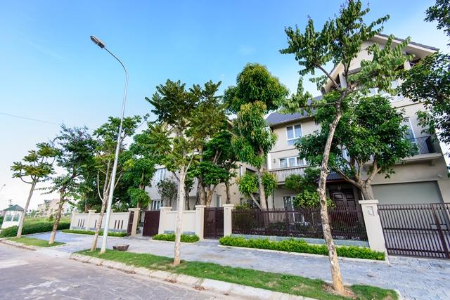 Biệt thự ở khu vực phía Tây Hà Nội gần đây đều đạt tỷ lệ bán tốt nhờ uy tín của CĐT và hạ tầng, tiện ích đồng bộ, quản lý chuyên nghiệp.