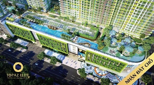 Topaz Elite - Thiên các con phố nghỉ dưỡng ở gia.