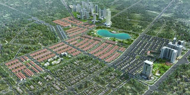 An Phú Shop-villa thừa hưởng môi trường sống xanh, gần gũi môi trường xung quanh của khu thành phố Dương Nội.