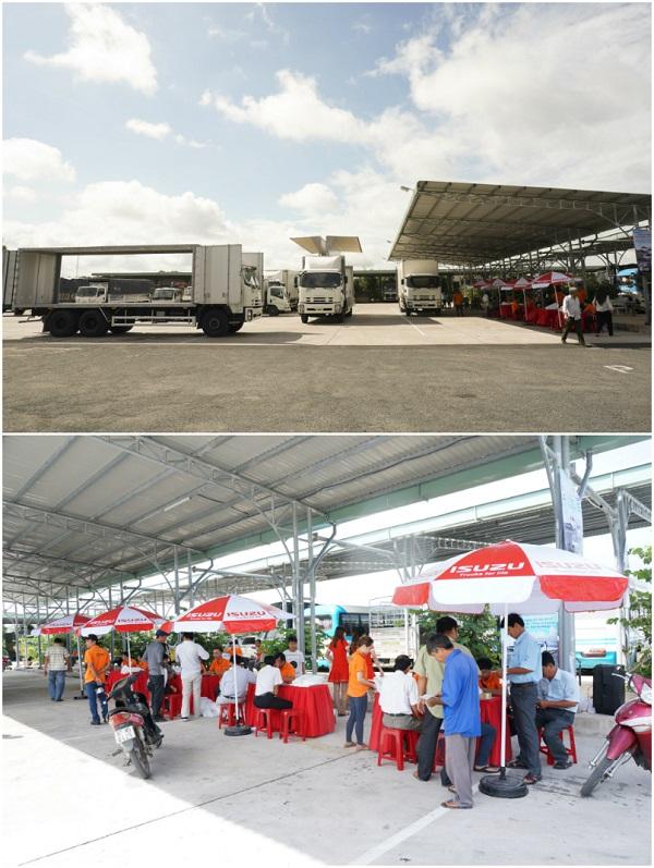 Ngày 2/8, hãng Isuzu lại tiếp tục lăn bánh đến Bến xe Thành phố Long Xuyên , Tỉnh An Giang.