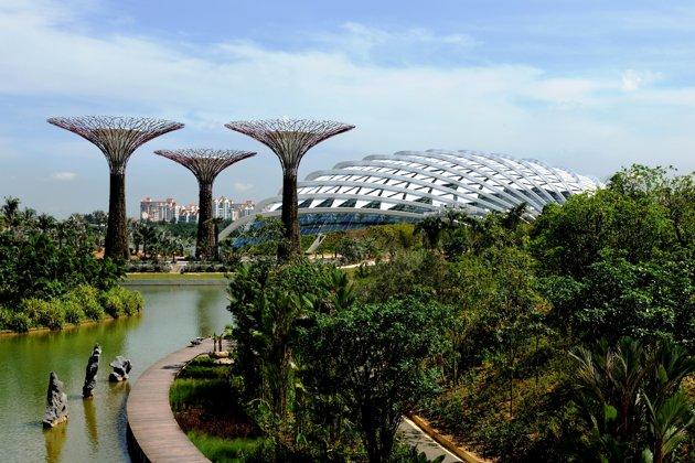 Tại khu vực Đông Nam Á, xu hướng thành thị xanh càng ngày càng được một vài tập đoàn BĐS tập trung đầu tư và phát triển.
