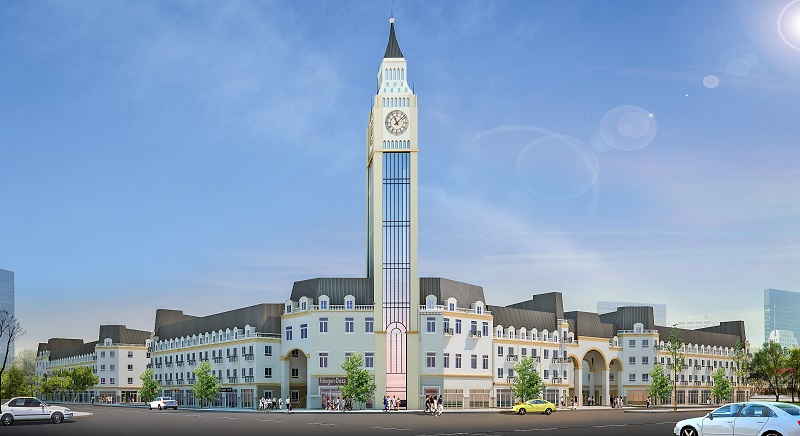 Tháp đồng hồ - 1 điểm nhấn nổi trội về thiết kế ở La Casta.