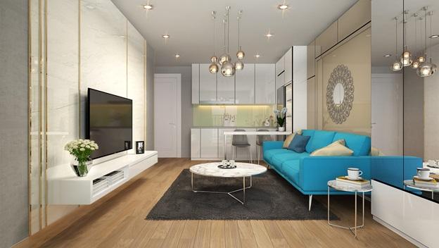 Những căn phòng quy mô nhỏ ở D'. El Dorado sẽ tạo được dòng tiền ổn định hàng tháng, là kênh đầu tư sinh lời dài hạn.