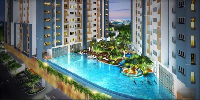 """Cận cảnh không gian sống """"resort"""" ở công trình căn hộ cao tầng của Biên Hòa - Ảnh 4."""