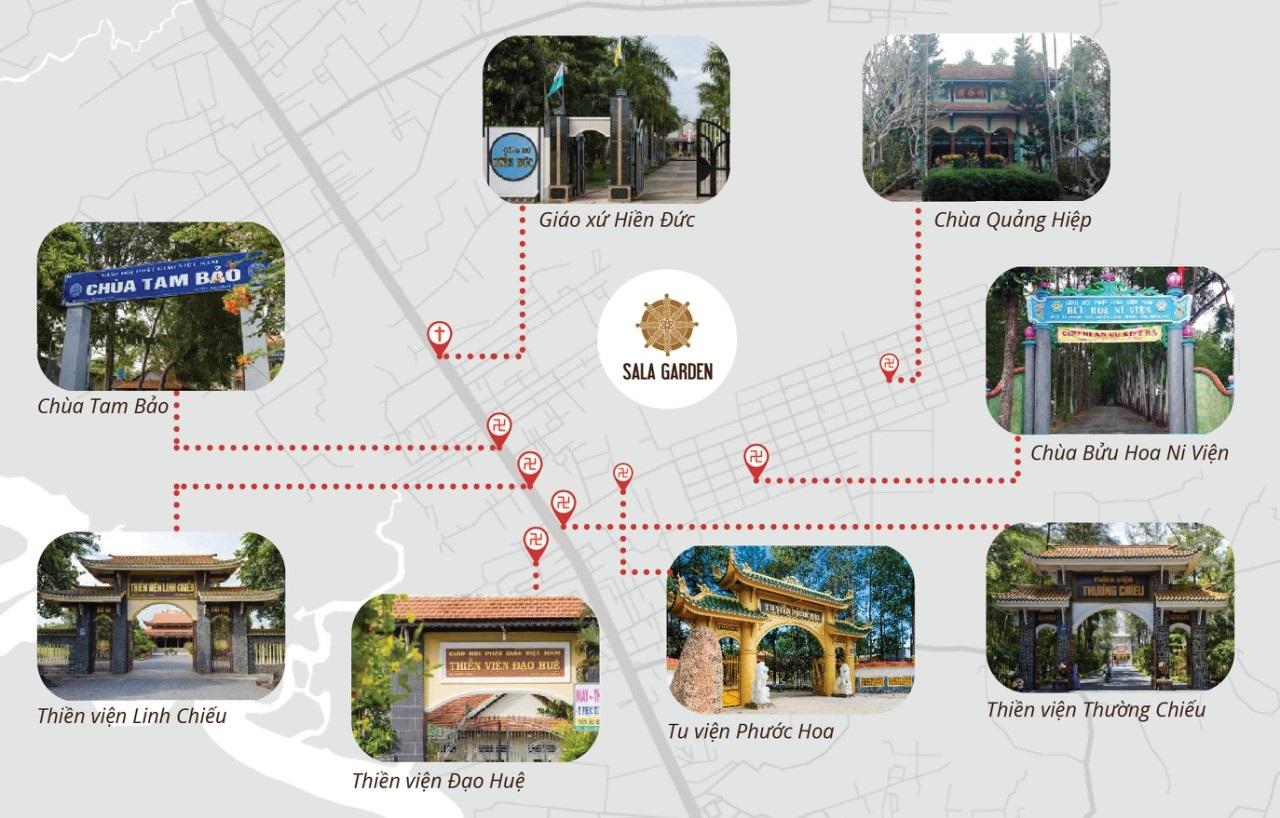 Mô hình nghĩa trang sinh thái Sala Garden - Ảnh 1.