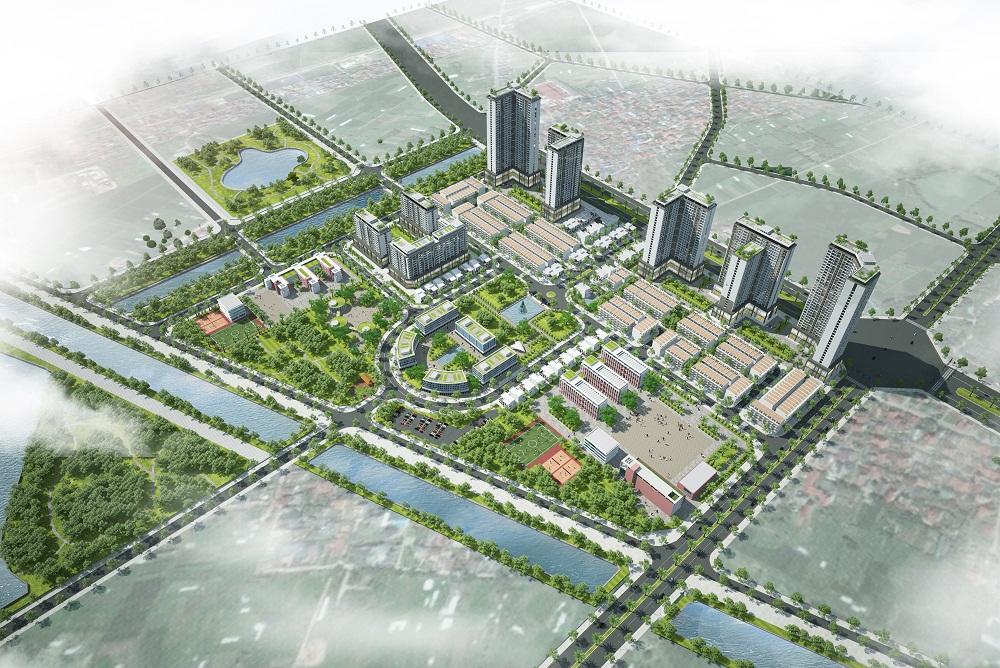Dự án Khu đô thị Kosy Complex Hà Nội - một trong những dự án tiềm năng Kosy đẩy mạnh triển khai sử dụng nguồn vốn gia tăng lần này.