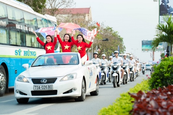 """FLC Quảng Bình khởi động năm 2019 tại """"sân nhà"""" với roadshow hoành tráng - Ảnh 1."""