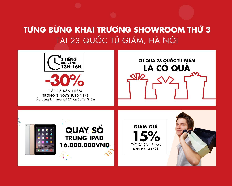Giaytot.com tưng bừng khai trương showroom3