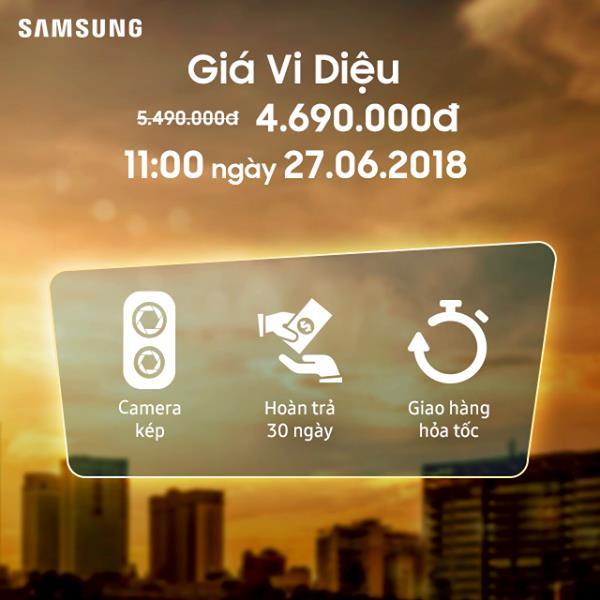 Lazada tiếp tục tung deal chớp nhoáng bán Galaxy J7 Duo giá 4,69 triệu đồng - Ảnh 3.