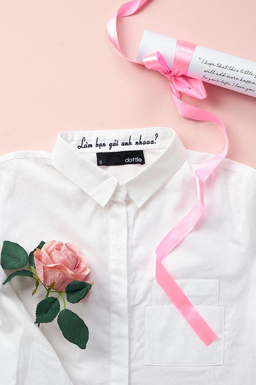 Chiếc áo gây sốt đầu thu - Chemise trắng - Ảnh 8.