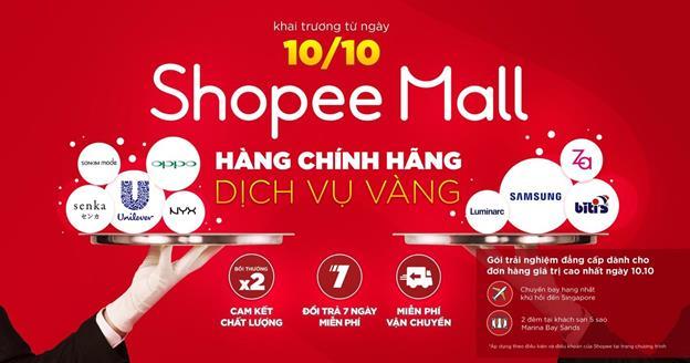 Bí kíp săn hàng cao cấp cùng Shopee Mall - Ảnh 1.