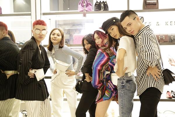 Sau Fashion Week, Kelbin Lei tái xuất nổi bật tại Charles & Keith Vincom Đồng Khởi - Ảnh 6.