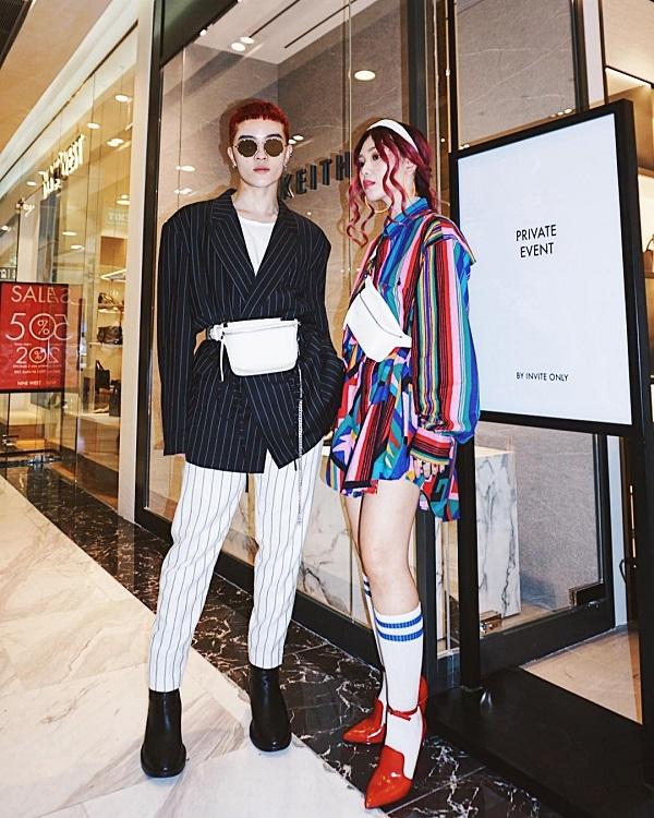 Sau Fashion Week, Kelbin Lei tái xuất nổi bật tại Charles & Keith Vincom Đồng Khởi - Ảnh 9.