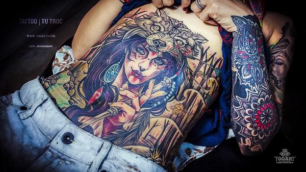"""Tattoo""""TooArt"""" - Địa chỉ xăm mình đầy cá tínhcủagiớitrẻSàithành - Ảnh 9."""