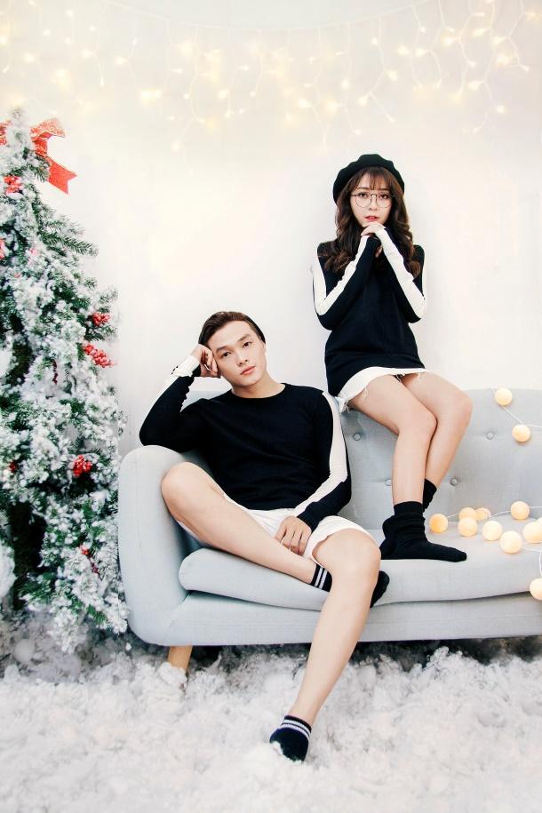 Gợi ý mix đồ Giáng sinh vừa lạ vừa quen cho các cặp đôi - Ảnh 4.