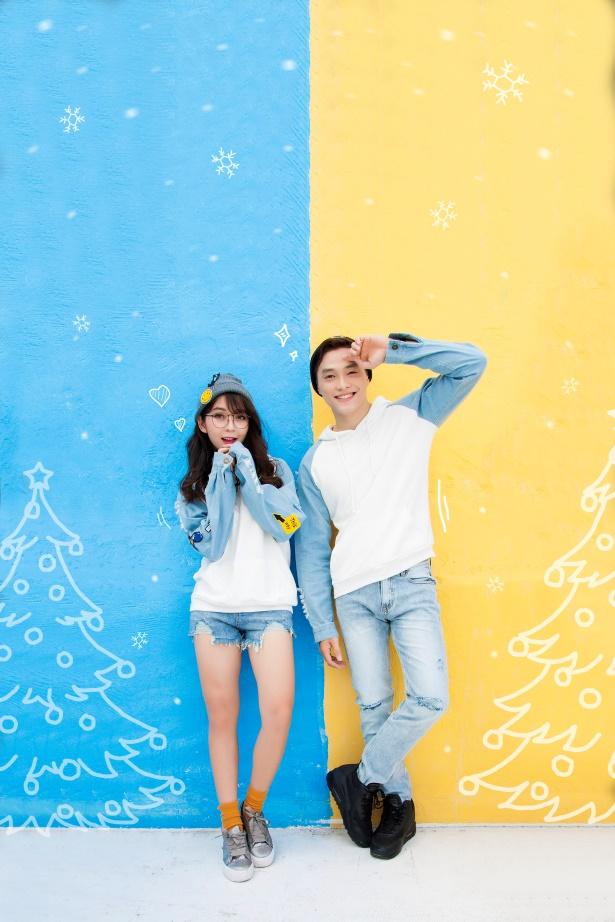 Gợi ý mix đồ Giáng sinh vừa lạ vừa quen cho các cặp đôi - Ảnh 8.
