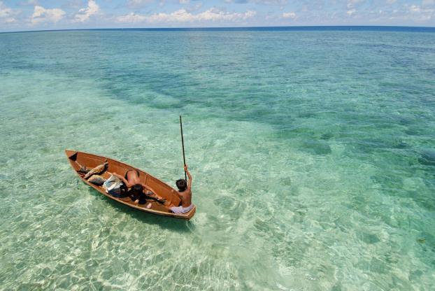 Mùa xuân lạc lối tại đảo thiên đường Mabul – Malaysia - Ảnh 4.