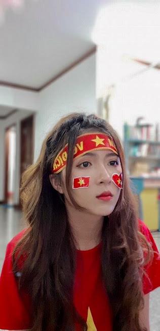 Nhìn lại những cách cổ vũ siêu đáng yêu cho U23 Việt Nam của các hot face trên mạng xã hội - Ảnh 2.