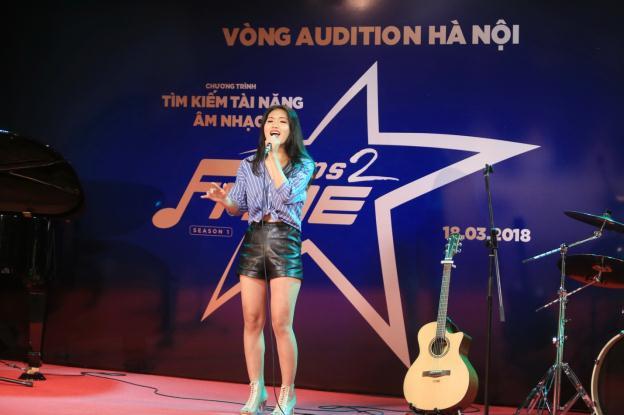 Thu Minh xuất hiện đầy cá tính trong vai trò giám khảo chương trình tìm kiếm tài năng âm nhạc mới - Ảnh 8.