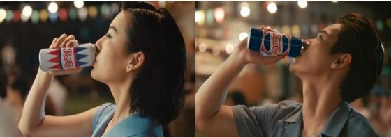 """Sao Việt so độ """"chất"""" trong thiết kế lấy cảm hứng từ lon Pepsi - Ảnh 2."""