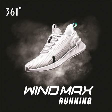"""Đón chờ siêu phẩm """"giày biết thở"""" của thương hiệu 361° - Wind Max - Ảnh 9."""