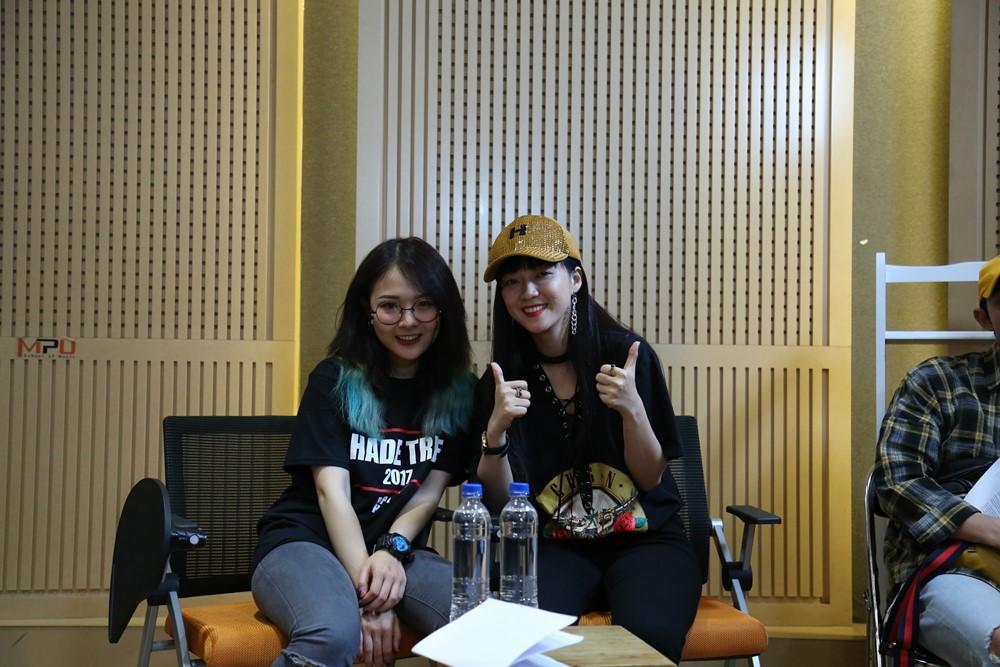 Hoàng Yến Chibi, Ali Hoàng Dương, Thảo Trang, Đinh Hương dốc sức luyện tập cho vòng thi quyết định Nhạc hội song ca mùa 2 - Ảnh 10.