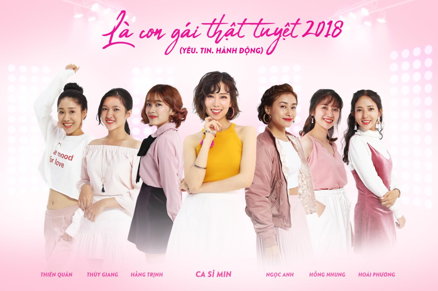 Truy tìm 6 cô gái toả sáng cùng MIN trong MV đẹp như mơ - Ảnh 1.