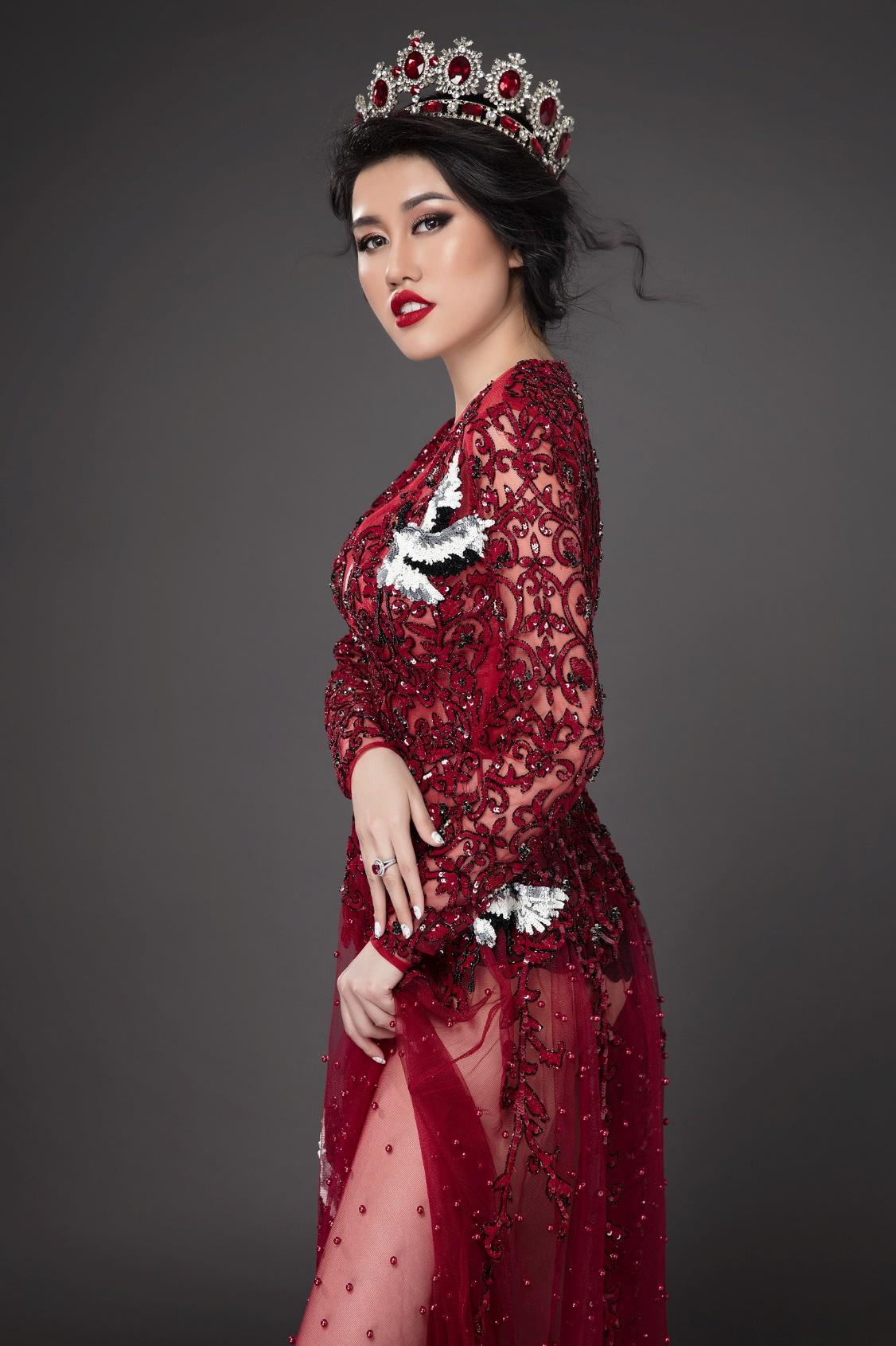Hoa hậu Du lịch Emily Hồng Nhung đón sinh nhật đặc biệt cùng những chú cá heo tại Singapore - Ảnh 5.