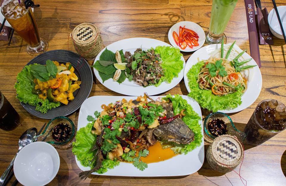 Có gì ở nhà hàng Lào thu hút dàn hot mom, hot teen Hà thành đến thưởng thức - Ảnh 1.