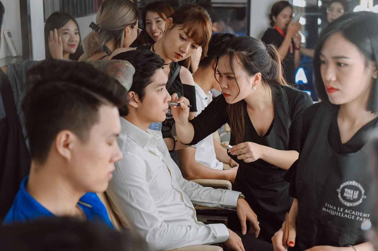 Tina Lê - Người đứng sau ekip makeup hùng hậu cho hàng loạt sự kiện lớn tại Việt Nam - Ảnh 8.