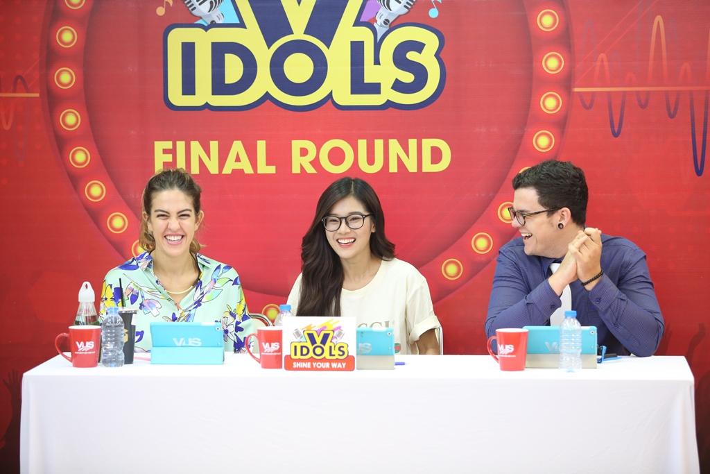 Vòng chung kết V-Idols rực rỡ cảm xúc và tài năng - Ảnh 1.