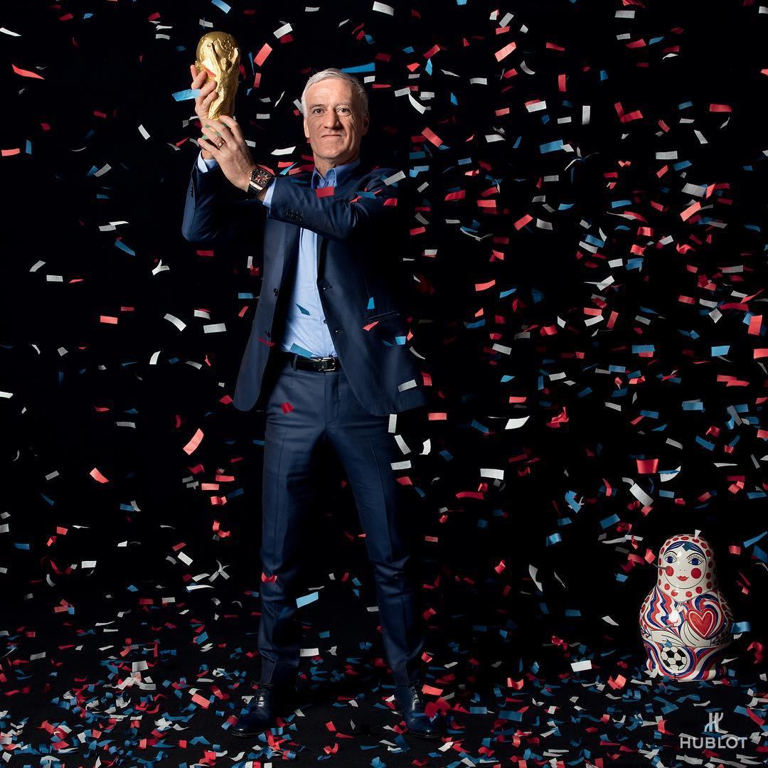 Hublot - Thương hiệu nổi bật trong mùa World Cup với những khoảnh khắc đáng nhớ - Ảnh 2.