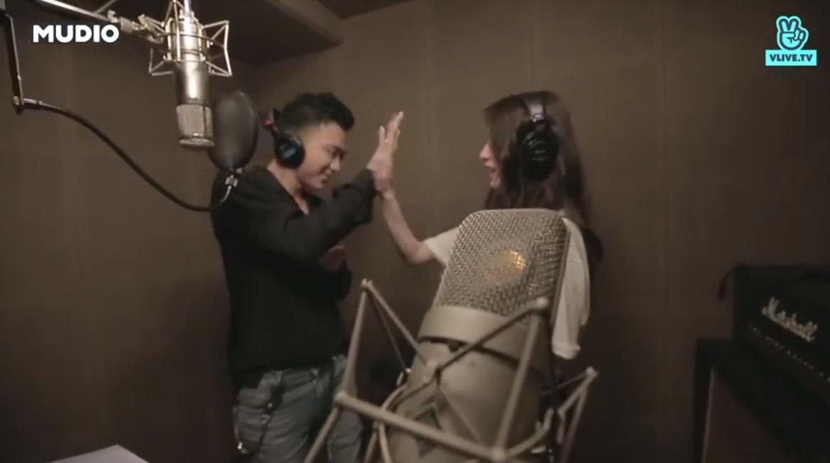 """Lộ khoảnh khắc cực tình cảm giữa Soobin Hoàng Sơn và Ji Yeon khi quay MV """"Đẹp nhất là em - Ảnh 5."""