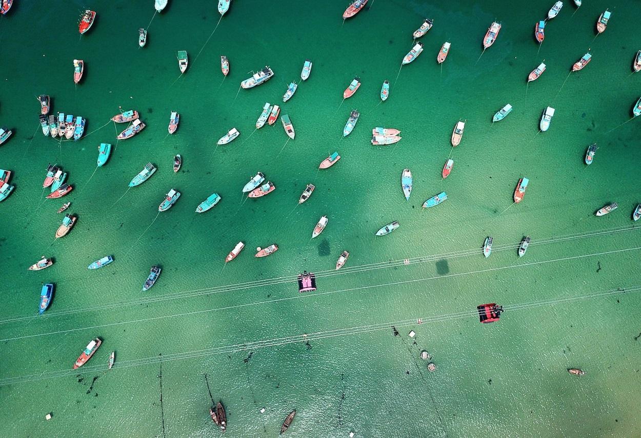 Vẻ đẹp mê hồn của Nam Phú Quốc nhìn từ cabin cáp treo Hòn Thơm - Ảnh 3.