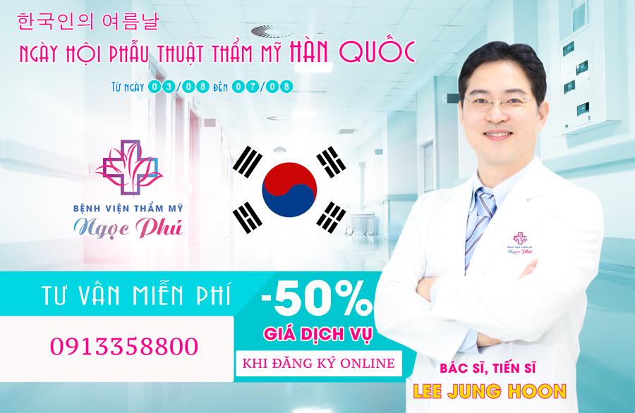 """""""Ngày hội phẫu thuật thẩm mỹ Hàn Quốc"""" tại bệnh viện thẩm mỹ Ngọc Phú - Ảnh 1."""