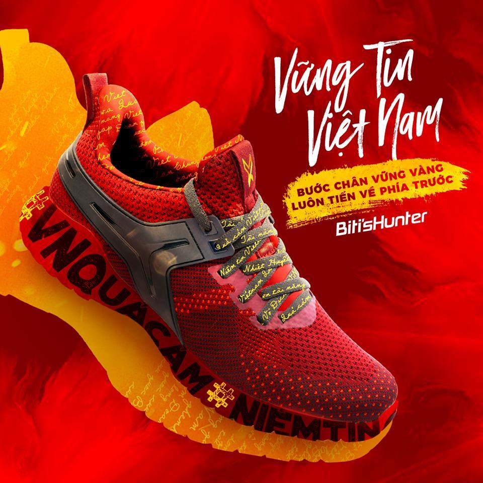Bên lề Asiad 2018: Đội tuyển Việt Nam bất ngờ là niềm cảm hứng cho phiên bản giày giới hạn #theREDpride - Ảnh 2.